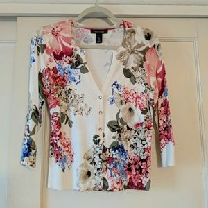 Floral Cardigan by WHBM